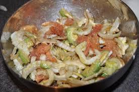 cuisiner le fenouil cru salade de fenouil cru plemousse et avocat des filles et