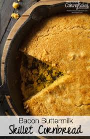 family thanksgiving traditions delicious bacon buttermilk skillet cornbread recipe