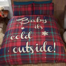 Tartan Flannelette Duvet Cover Shop Now For Bedding Sets At Www Tjhughes Co Uk Baby It U0027s Cold