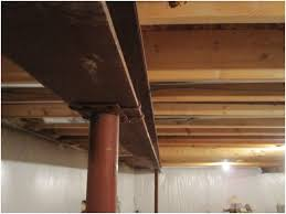 best of steel support columns for basement the best home design