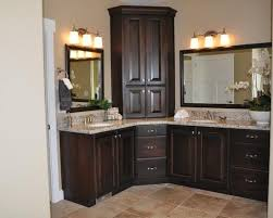 Corner Bathroom Vanity Cabinets Amazing Brilliant Corner Bathroom Vanity Cabinet Cabinets On