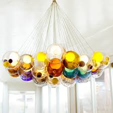 pendelleuchte design moderne bunte glas pendelleuchte hängenden le led leuchte
