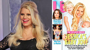 Jessica Simpson Home by Jessica Simpson Poses With Son Ace And Daughter Maxwell U0026 40