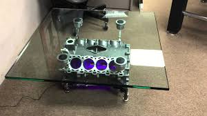 How To Make An Engine Block Coffee Table - jaguar engine block coffee table youtube