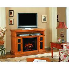 light oak electric fireplace fireplace oak electriclace tv stand inch light finish 58 amazing