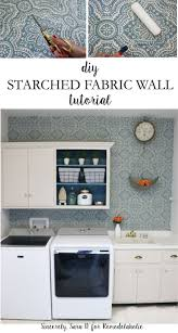 best 25 starch fabric walls ideas on pinterest fabric on walls