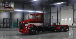 kenworth dealer kenworth t800 classic v2 skin american truck simulator mod ats mod