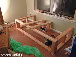 building the frame day bed window seat basement pinterest