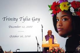 Words Of Comfort For Funeral Trinity Daughter Of Olympian Tyson Celebrated At