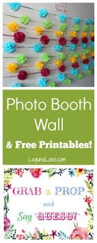 photo booth signs photo booth wall free printables laguna