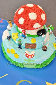 mario cakes coolest mario brothers cakes