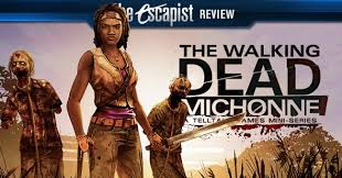 Seeking Episode 1 Review The Walking Dead Michonne Episode 1 Review Reviews The Escapist