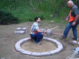 home depot fire table how to build a fire pit youtube