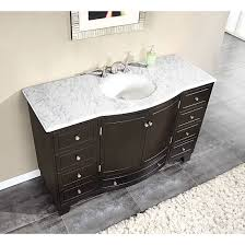 White Bathroom Cabinets Dark Countertops Creditrestoreus - Elegant bathroom granite vanity tops household