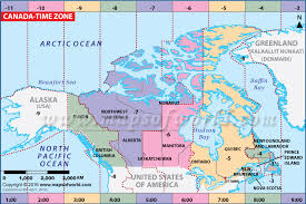 canadian map with time zones canada time zone map current local time in canada