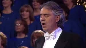 Opera Singer Blind Bocelli Andrea Bocelli The Lord U0027s Prayer Mormon Tabernacle Choir
