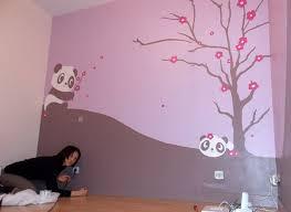 fresque murale chambre bébé pochoir chambre bebe pochoir deco chambre fille fresque murale