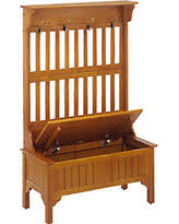 tis the season for savings on dearborne bench with coat rack