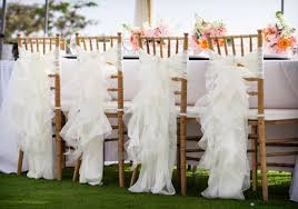 ruffled chair covers 7 stylish wedding chair covers to try crazyforus