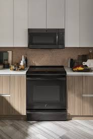 gray kitchen cabinets with black stainless steel appliances black stainless steel appliances the pros and cons bob vila