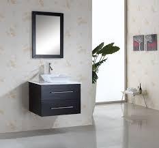 virtu usa marsala single 29 5 inch modern wall mount bathroom