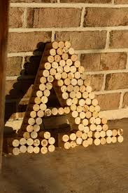 recycled wine cork letter community post 14 gifts for the wine