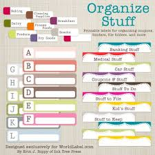 Printable Labels 21 Free Labels To Get You Organized Printables Tip Junkie