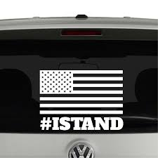 jeep american flag decal stand american flag hashtag anthem vinyl decal sticker