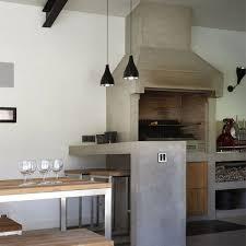 plan de travail cuisine effet beton béton ciré quelle couleur choisir côté maison
