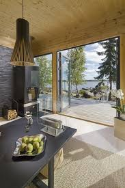 create a modern log home with honka