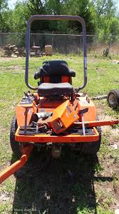 kubota f2100 zero turn mower item dm9017 sold june 6 go