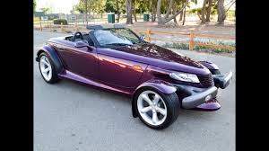 corvette mike 1999 plymouth prowler convertible for sale by corvette mike