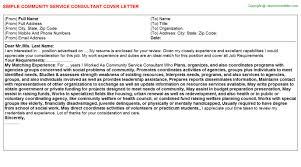 vice consul cover letters