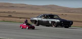 corvette power wheels 5 year drives standing half mile in power