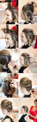 Hochsteckfrisurenen F Kurze Haare Zum Selber Machen Leicht by Hochsteckfrisuren Selber Machen 58 Anleitungen Für Effektvolle