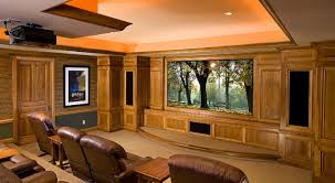 Small Home Theater Room Ideas living room amazing living room and home theatre in sport theme