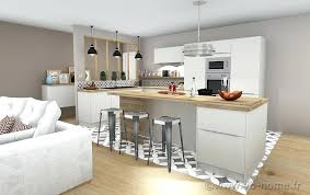 cuisine blanche mur taupe ambiance scandinave cuisine blanche mur taupe 2 cuisine blanche et