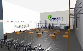 crossfit gym equipment gym design