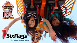 Six Flags Discovery Kingdom Discounts Dare Devil Chaos Coaster Pov Hd On Ride Six Flags Discovery