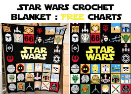 star wars crochet blanket free charts explanations