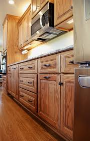 oak kitchen cabinets custom oak kitchen with cambria quartz conneaut lake