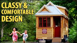 family friendly tiny house with downstairs bedroom youtube
