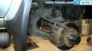how to install replace front shocks 2003 04 nissan frontier and