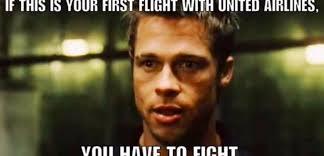 Tyler Durden Meme - is oscar munoz really tyler durden hilarious united memes