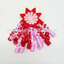 christmas ribbons and bows christmas decorate curly ribbon bow bottle decorate curling bow