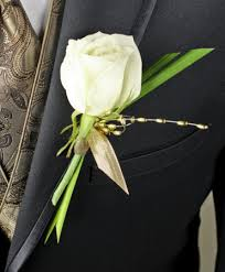 boutonniere prices white glitter prom boutonniere in greenfield ma floral affairs