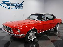 ford mustang convertible 1968 1968 ford mustang classics for sale classics on autotrader