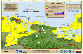Baja Map Tsunami Program