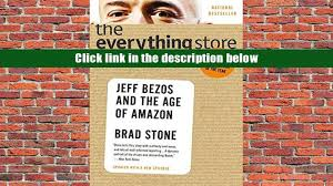 download ebook the everything store jeff bezos and the age of