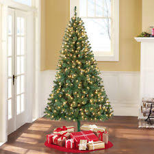 light 6 8ft height artificial christmas trees ebay